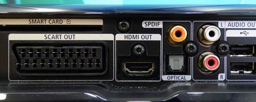 Anschlüsse TV / Fernsehen an der Unitymedia Horizon Box (Horizon HD Recorder)