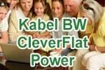 Kabel BW CleverFlat Power - KabelBW CleverKabel 100 Internetflat Tarif